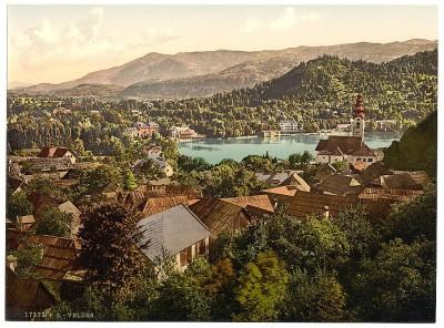 Panorama Bleda, Slovenija / Austrougarska, kraj 19. veka