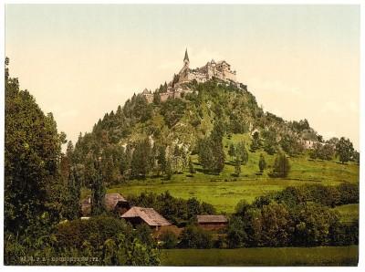 Zamak Hohostervic, Koruška / Austrougarska (1890)