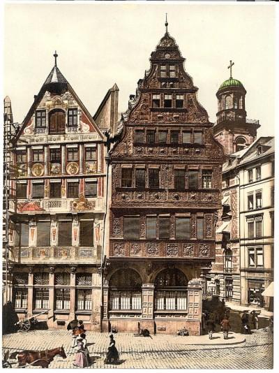 Stare kuće, Rijeka, Hrvatska / Fiume / Austrougarska (1900)