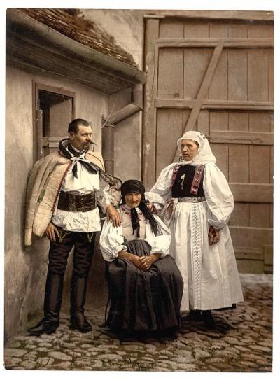 Ljudi iz Transilvanije, kraj XIX veka, Sibiu, Rumunija