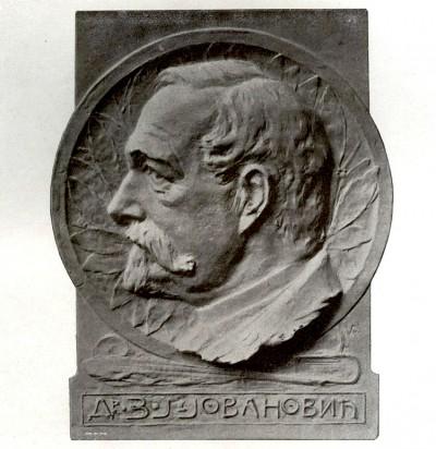 Zmaj Jovan Jovanović, skulptura Rudolf Valdec