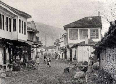 Ulica u Bitolju oko 1900. god.