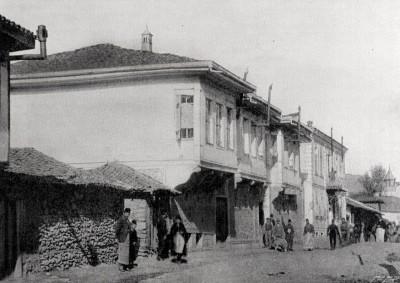 Hotel Beograd u Bitolju oko god. 1900.