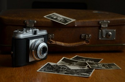 Retro fotoaparat 24786