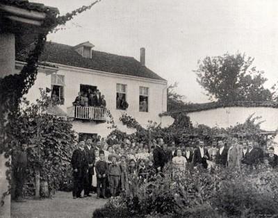 Srpska škola u Bitolju oko 1900.