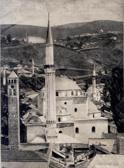 Begova džamija u Sarajevu krajem XIX veka