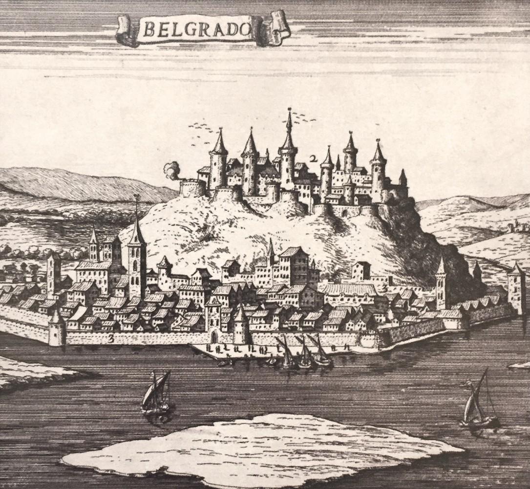Belgrado : detalj panorame iz 1684. godine