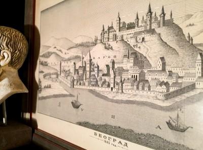 Grad Beograd godine 1685. godine. Gravira s kraja XIX veka