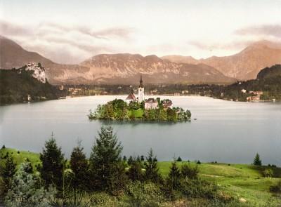 Bledsko jezero, Slovenija krajem XIX veka (HQ)