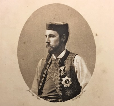 Knez Božidar Karađorđević, portret objavljen 1897. godine