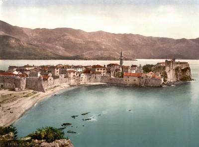 Budva, Crna Gora krajem XIX veka (HQ)