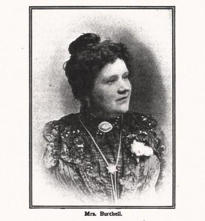 Mrs. Burchell, žena koja je u martu 1903., tokom seanse u Londonu, videla ubistvo kraljevskog para Obrenović u Beogradu