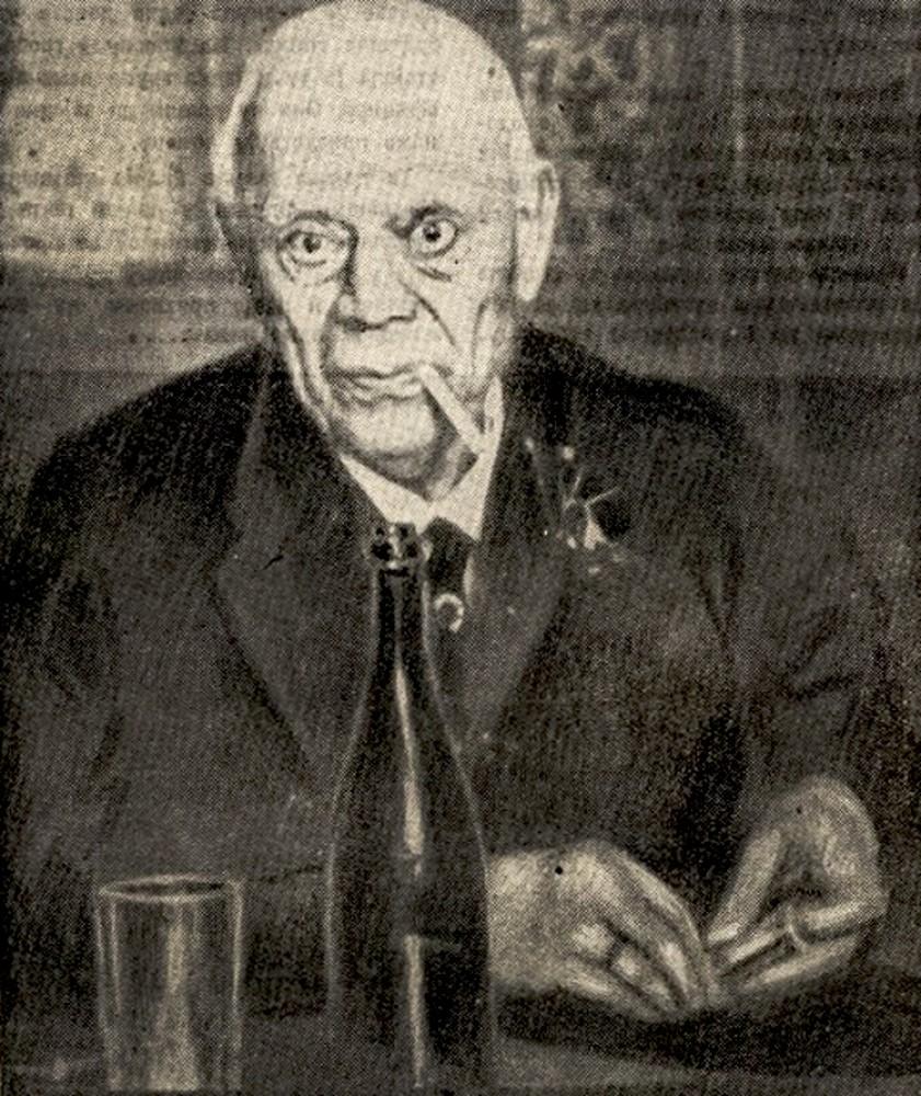 Čiča Ilija Stanojević (1859-1930), poslednja fotografija iz 1930