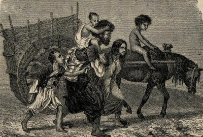 Cigani u Besarabiji : crtež, 1882.