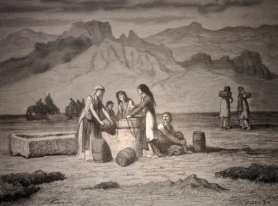 Mlade Crnogorke na bunaru (1876)