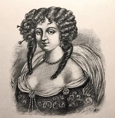 Cvijeta Zuzorić Pescioni, portret