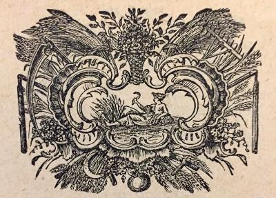Devica, horoskopski znak. Vinjeta iz 1914. god.