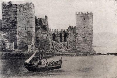 Đurđeva kula u Carigradu koju je podigao srpski despot Đurađ za uspomenu na svoj boravak u Carigradu
