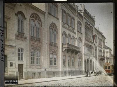 Fasada Univerziteta u Beogradu 1913. g.