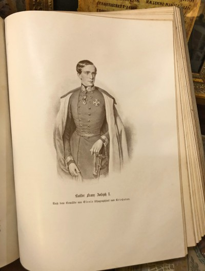 Mladi kajzer Franc Jozef I (Franja Josif) 1830-1916, car Austrije i kralj Ugarske