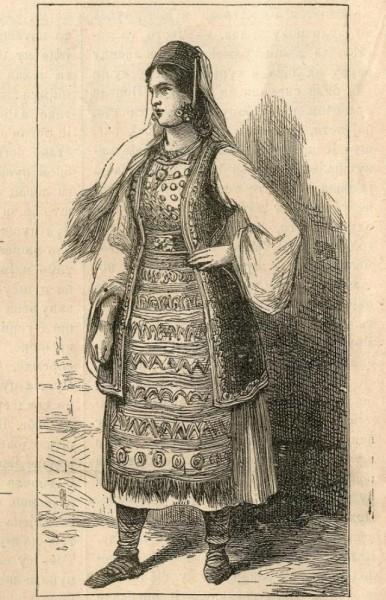 Hercegovka : crtež iz Nevena za 1882.