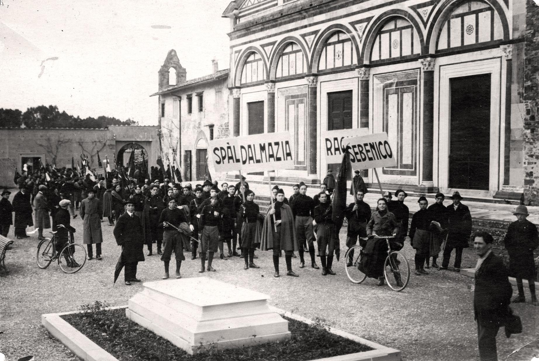 Italijanska Dalmacija : Manifestacija u Italiji 1923. godine (od saradnika: Antonello Razza) HQ