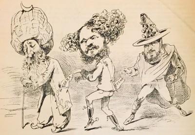Karikatura iz 1878. godine : Aneksija Bosne i Hercegovine