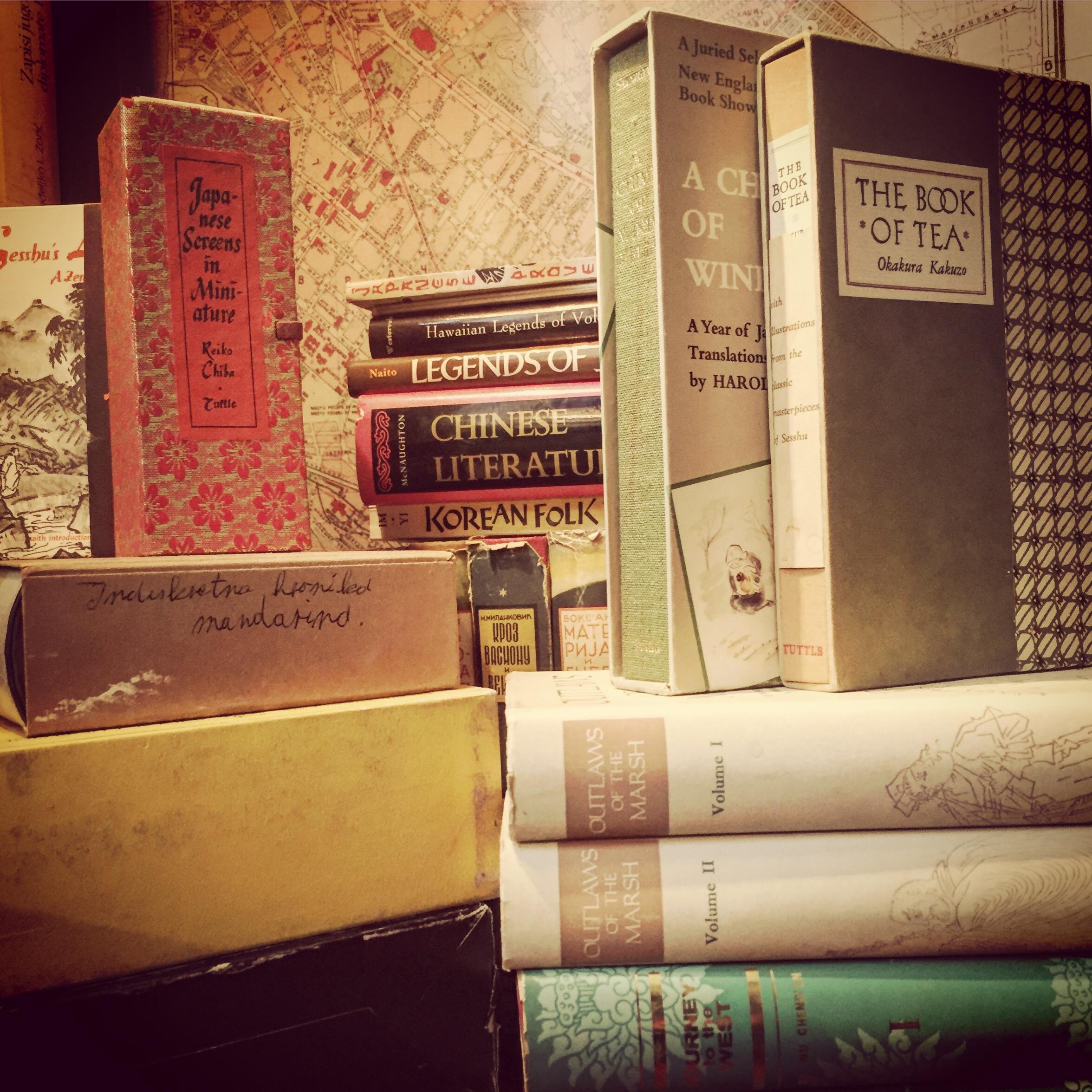 Zbirka japanskih i kineskih knjiga