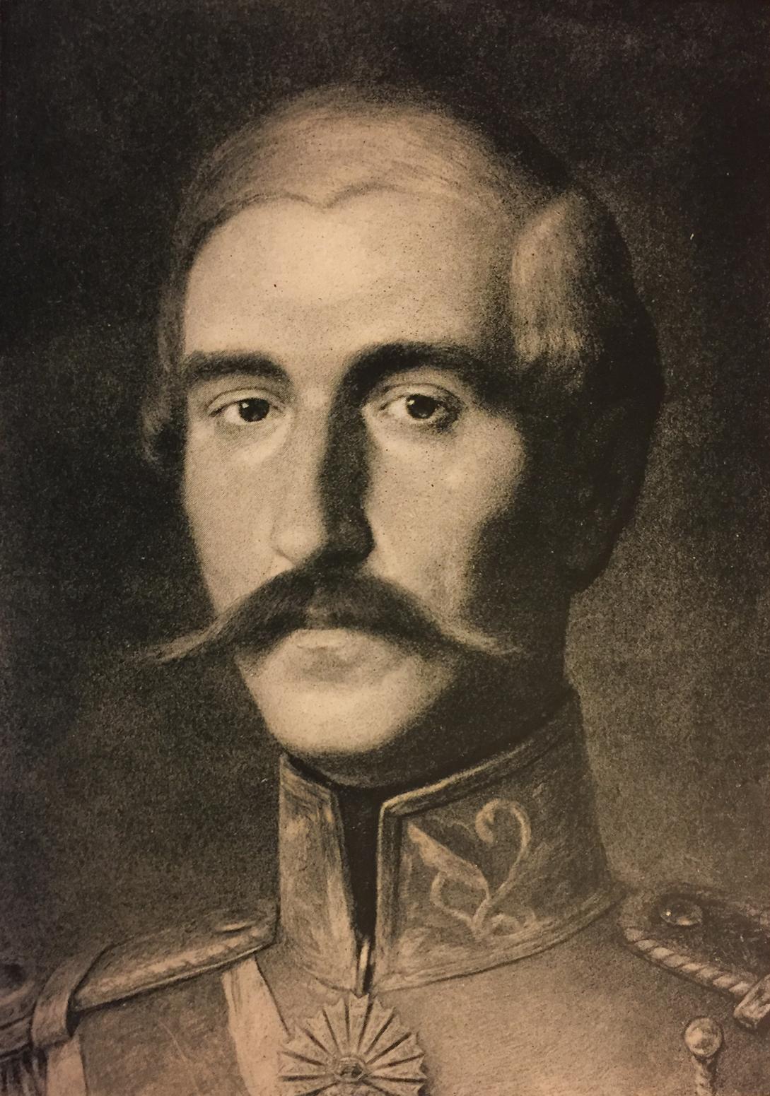 Knez Aleksandar Karađorđević 1806-1885, portret