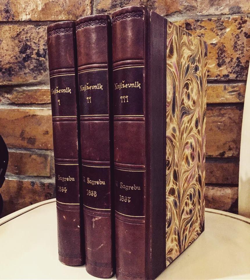 Hrvatske knjige iz druge polovine XIX veka