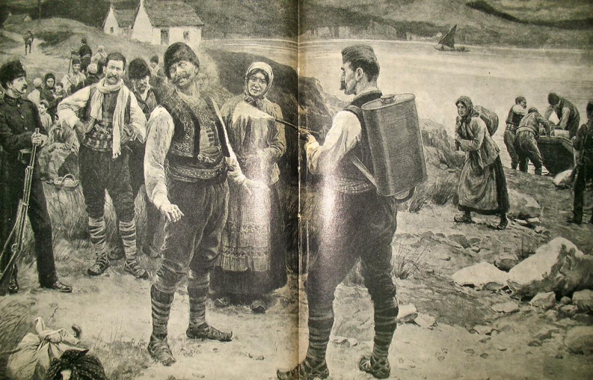Kolera u Srbiji 1911. Dezinfekcija stanovništva