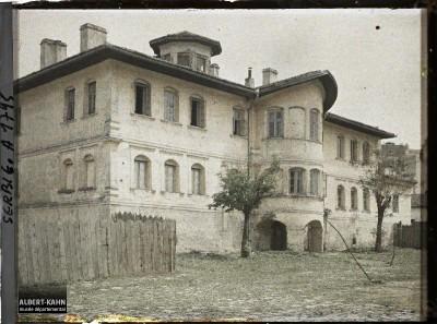 Konak kneginje Ljubice u Beogradu fotografisan 27. aprila 1913.