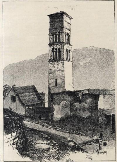 Lukina kula u gradu Jajce, kraj XIX veka
