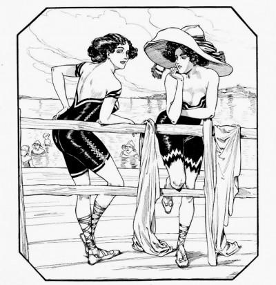 Moderni kupaći kostimi za 1914. godinu