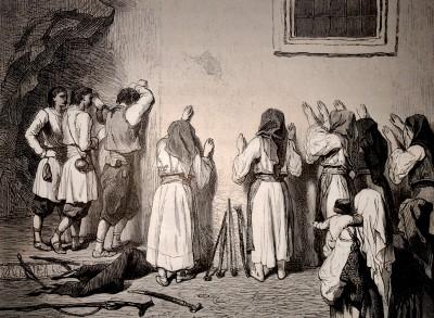 Lament ispred manastirskog zida u Crnoj Gori (1876)