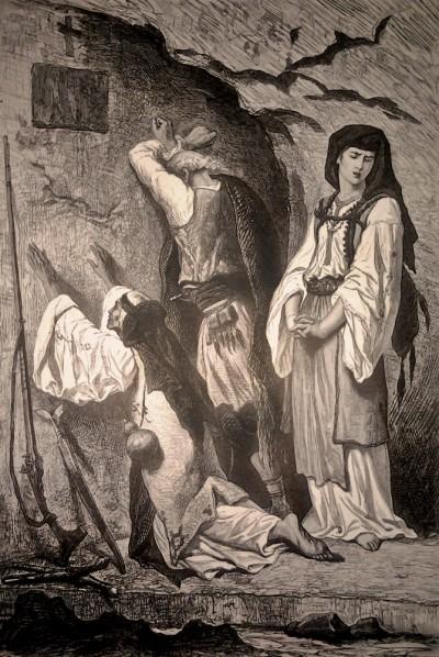 Molitva i oplakivanje mrtvih u Crnoj Gori (1876)