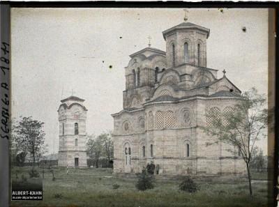 Crkva Lazarica u Kruševcu snimljena 29. aprila 1913. god.