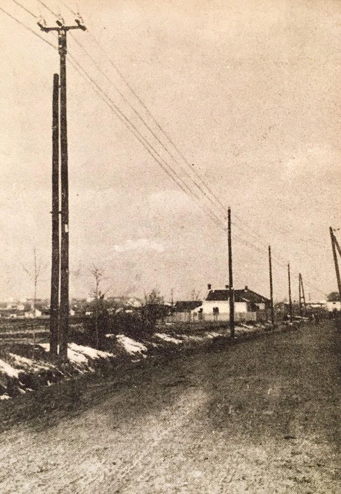 Linija visokog napona za Avalu 1936. god. Elektromreža Srbije