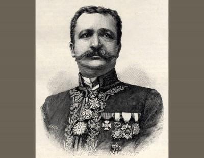 Majnard Merens, kraljevski srpski generalni konzul u Holandiji 1900 g.
