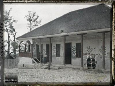 Mehana (gostionica) u selu Kumodraž kod Beograda 1913. godine