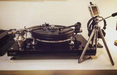 Michell TecnoDec England Upgraded Turntable. Michell Gramofon
