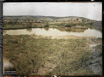 Močvarna ravnica između Kruševca i Stalaća 1913 god.