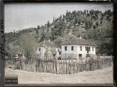 Selo Mrzenica blizu Stalaća i Ćićevca. Fotografija iz 1913. godine.
