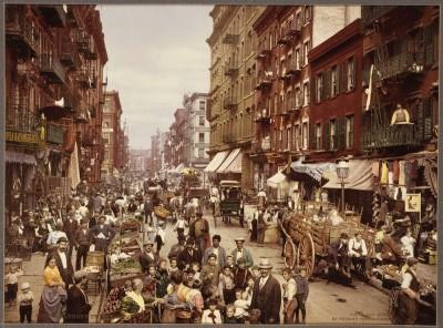 Njujork (Novi Jork), SAD 1900. godine