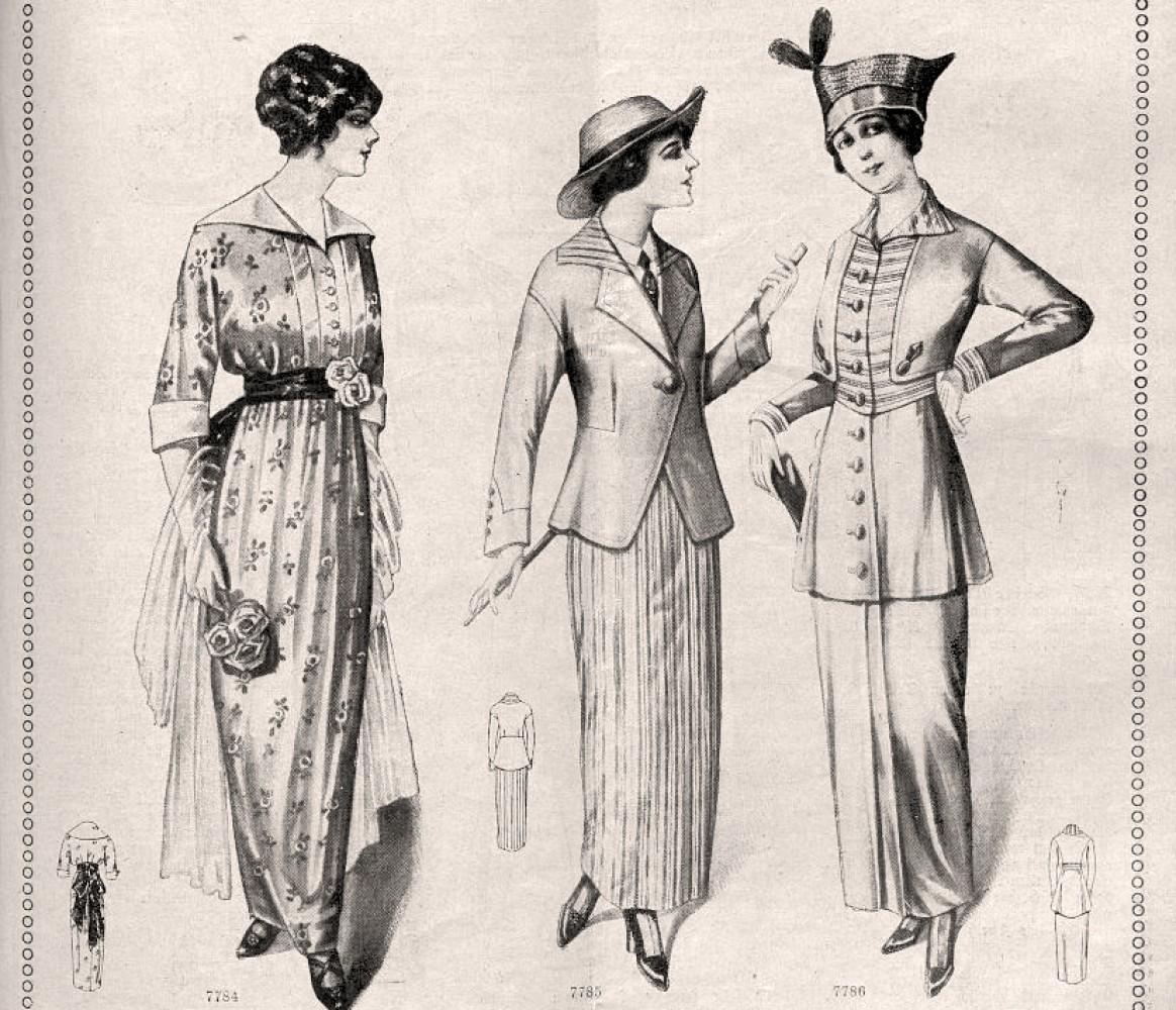 Nova moda u Austriji, juli 1914. godine