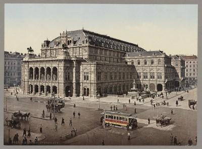 Opera u Beču oko 1890-1906: Opernhaus, Austrija