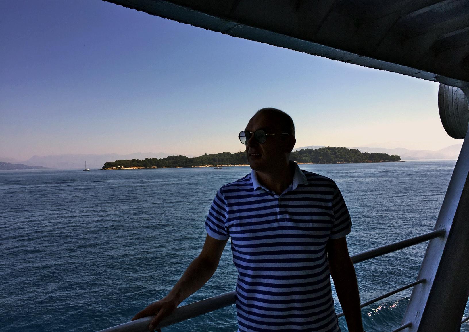 Ostrvo Vido viđeno s broda