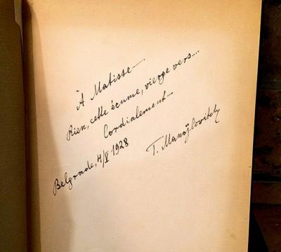 Potpis Todora Manojlovića iz 1928. godine