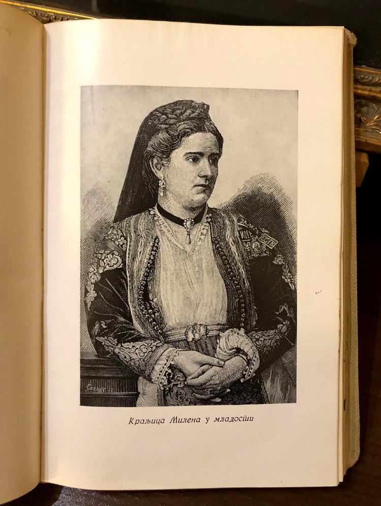 Kraljica Milena Petrović u mladosti