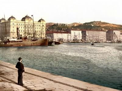 Riječka luka, Rijeka, Fiume krajem 19. veka (HQ)